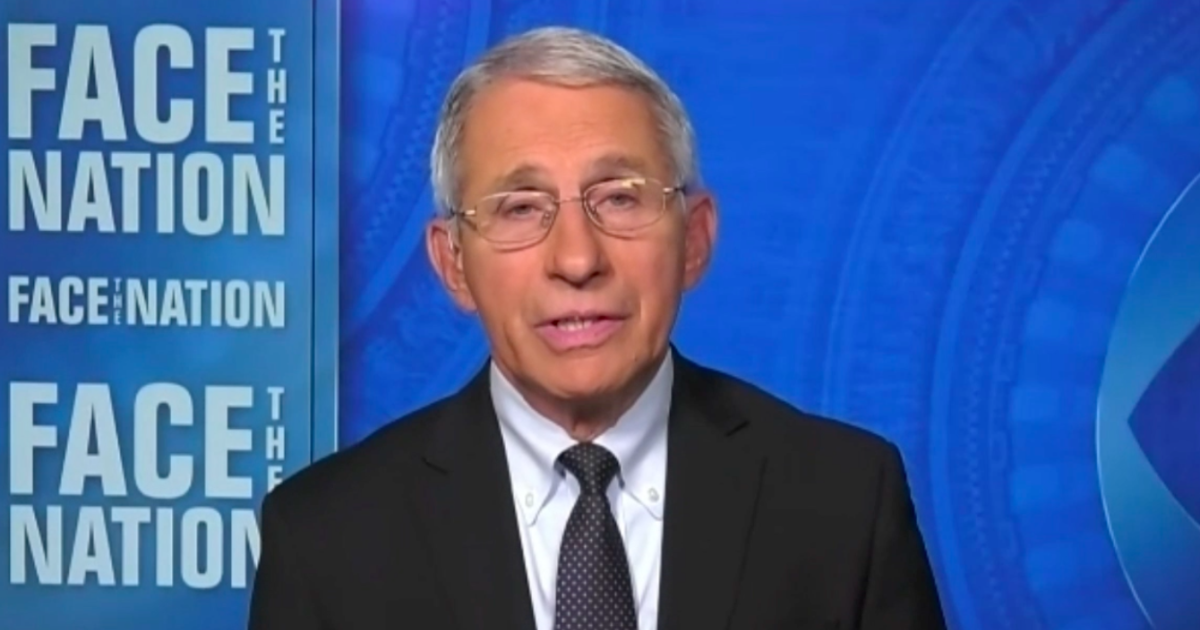 Fauci says unvaccinated are