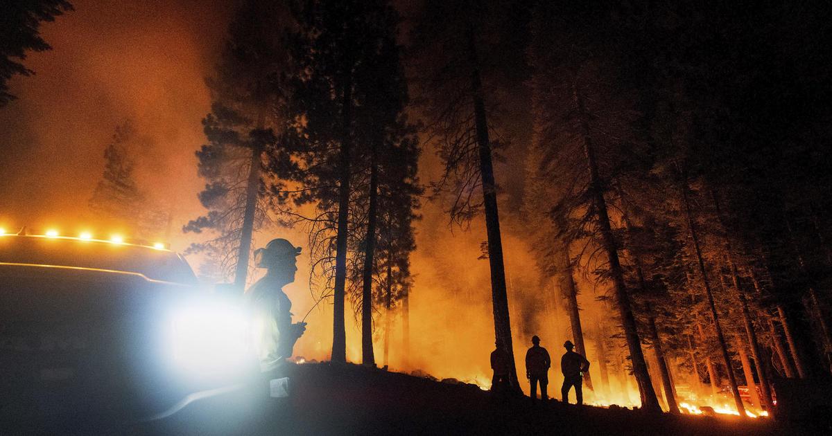 Crews making significant progress battling Western wildfires