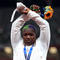 Athletics - Women's Shot Put - Medal Ceremony