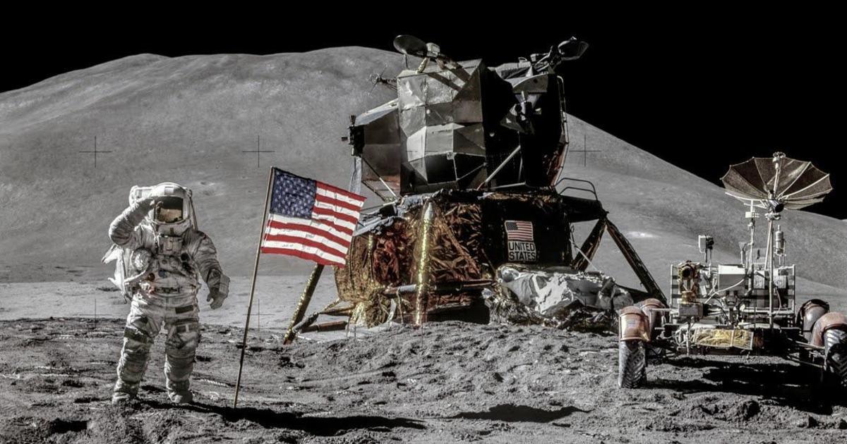 Jaw-dropping remastered NASA photos celebrate Apollo 15's 50th anniversary