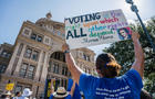 Texans Rally At State Capitol In Support Of Voting Rights