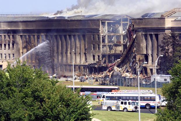 Pentagon Hit By Hijacked Airplane