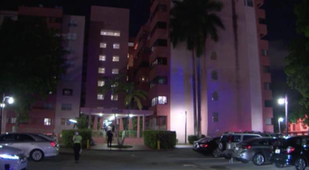 Miami Condo Evacuation