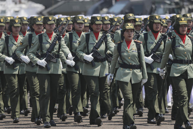 Indonesian army ends