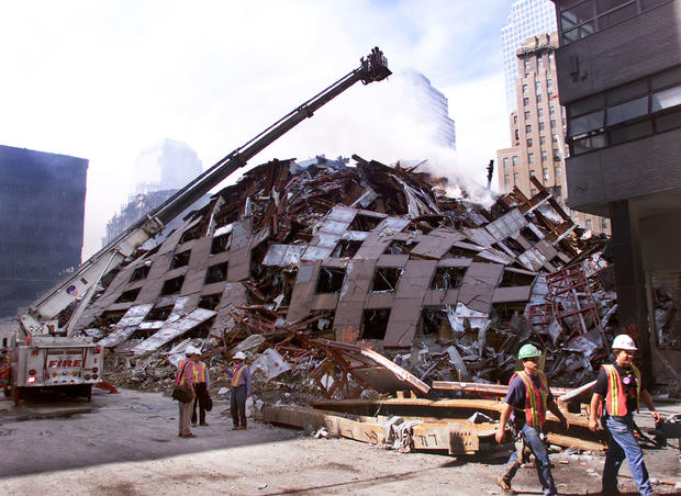 Search And Rescue Operations At World Trade Center