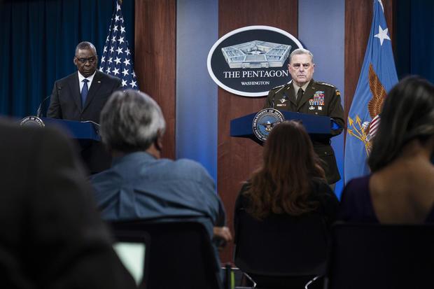 Pentagon US Afghanistan