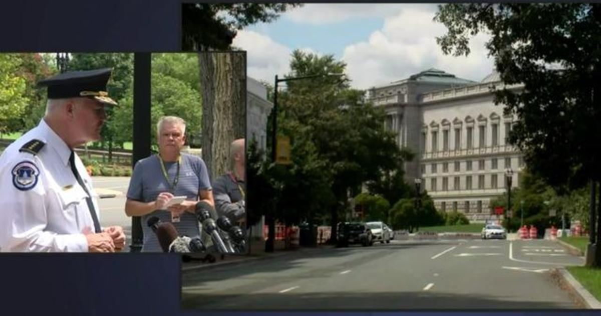 U.S. Capitol Police say bomb threat suspect surrenders thumbnail