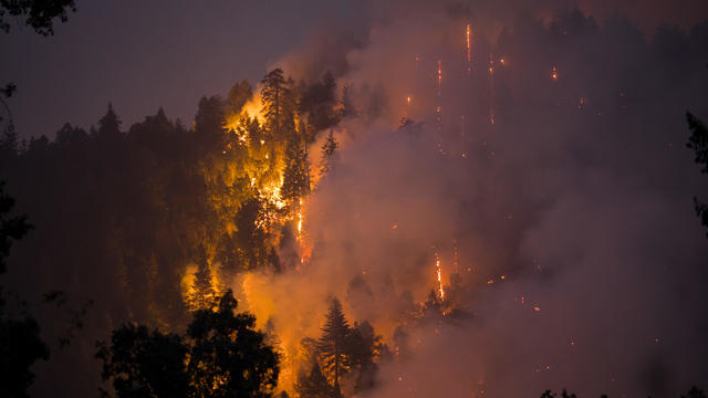 California's Caldor Fire Explodes In Size After Burning A Town