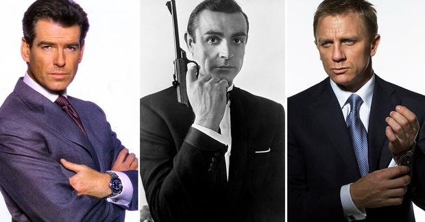 James Bond movies, ranked