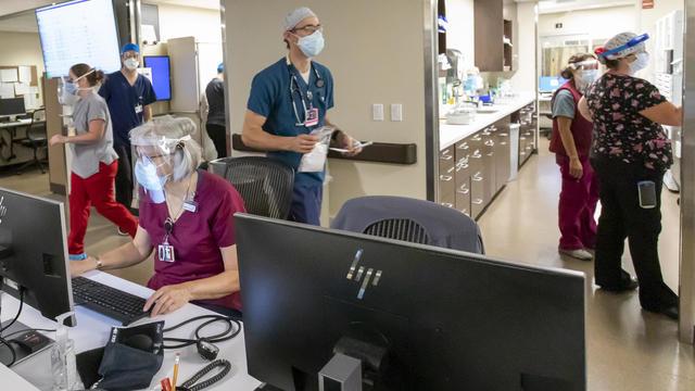 Virus Outbreak Oregon Hospitals