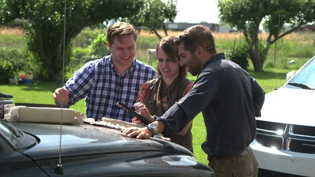Garth Daybell, Emma Murray and  Jonathan Vigliotti.