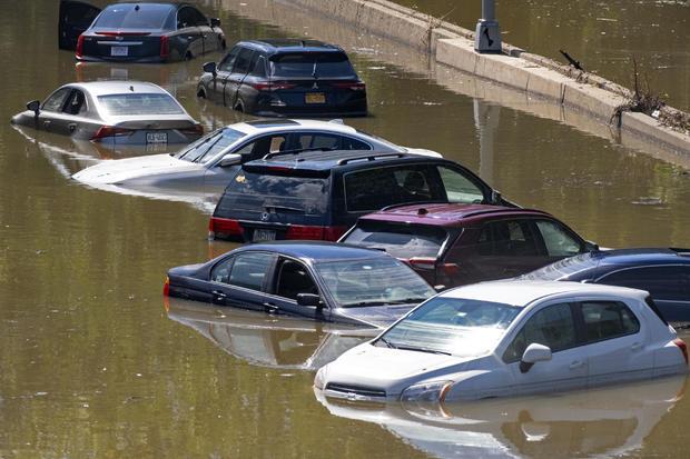Hurricane Ida flooding New York