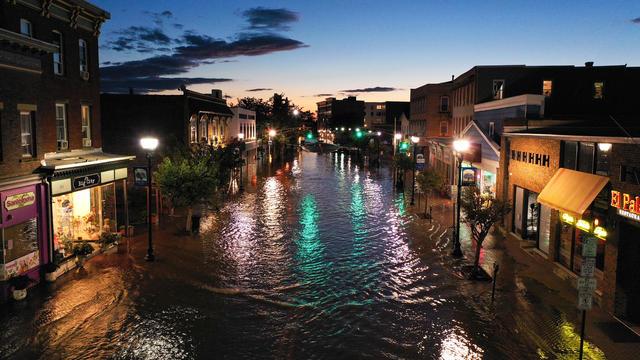 Hurricane Ida hits US east coast with flash floods