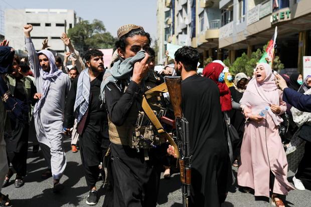 Anti-Pakistan protest in Kabul