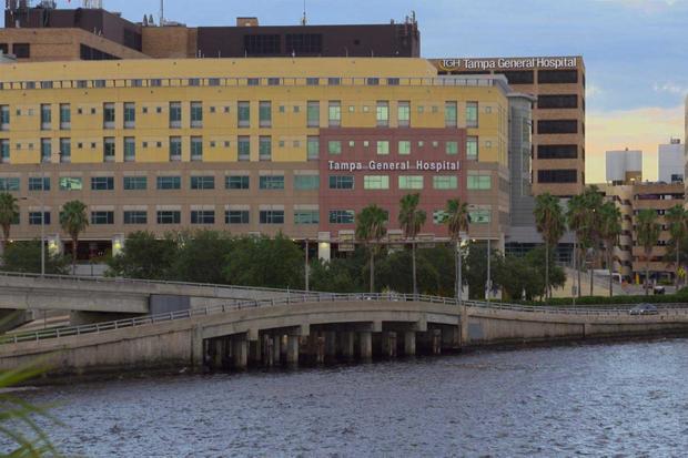 Hospital where Ashley Benefield gave birth