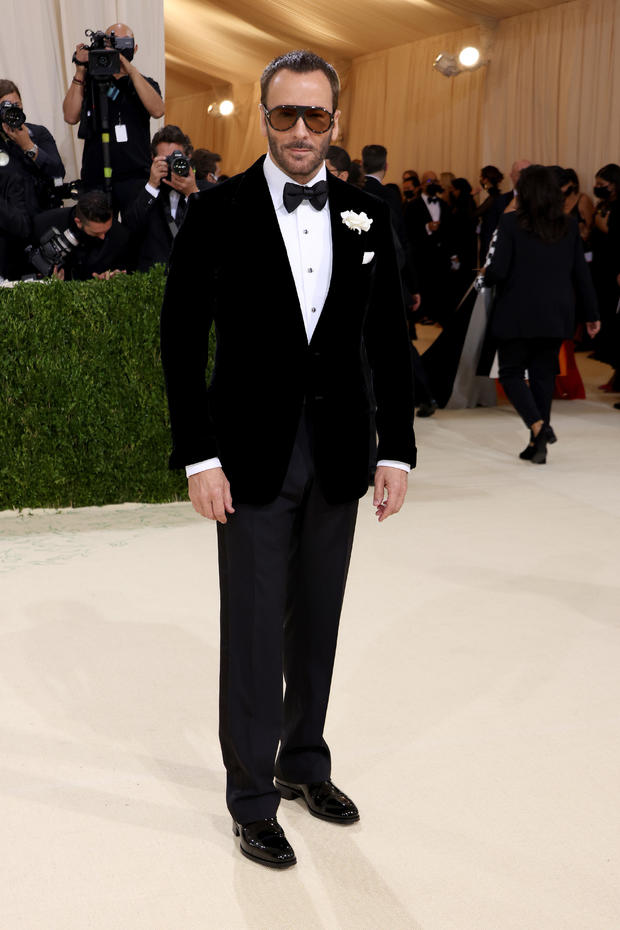 The 2021 Met Gala Celebrating In America: A Lexicon Of Fashion - Arrivals