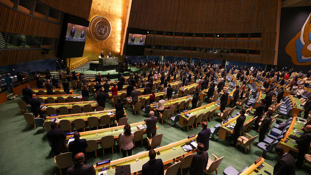 U.N General Assembly plenary meeting in NYC