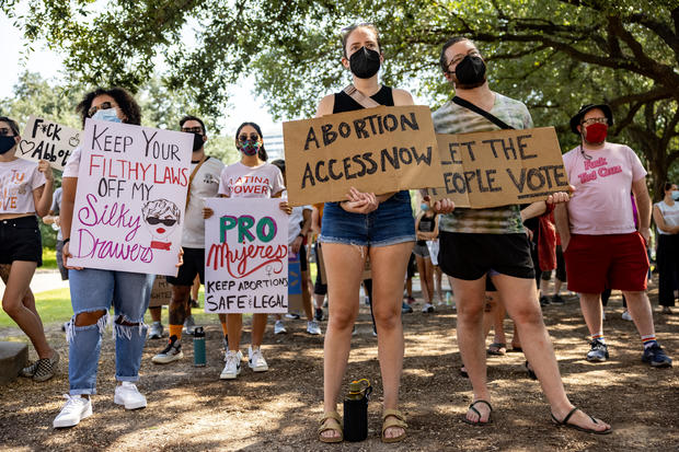 Texans Rally At State Capitol Against New Abortion Bill
