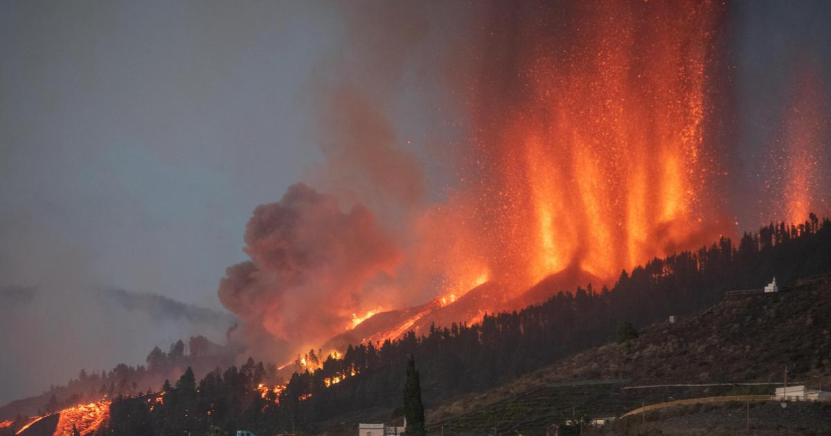 Volcano erupts on Spain's La Palma island, spewing lava and forcing thousands to evacuate