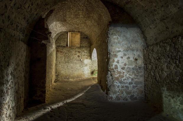 Slave quarters at the Cape Coast Castle (UNESCO World
