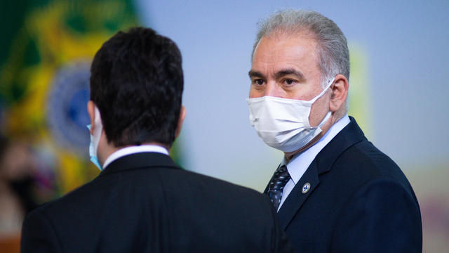 President Bolsonaro Holds Press Conference On Banco Do Brasil Agricultural Program