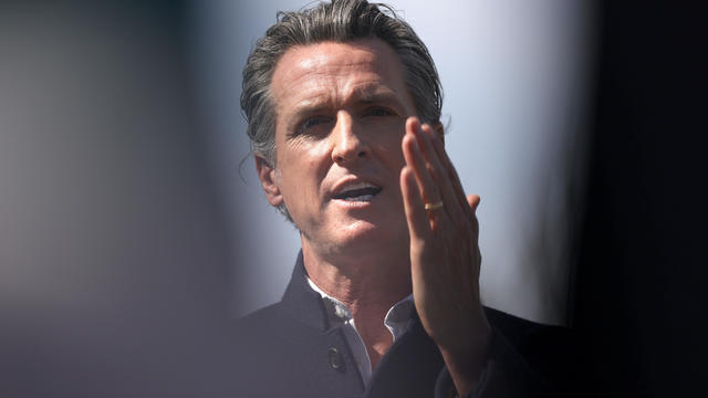 California Governor Gavin Newsom Visits Reopened Elementary In Palo Alto