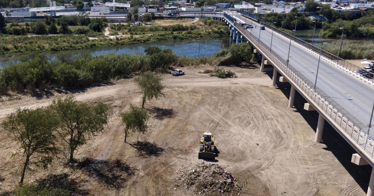 Massive migrant encampment in Del Rio cleared out