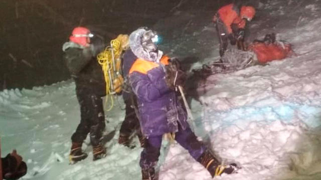 Climbers die while ascending Mount Elbrus in southwest Russia