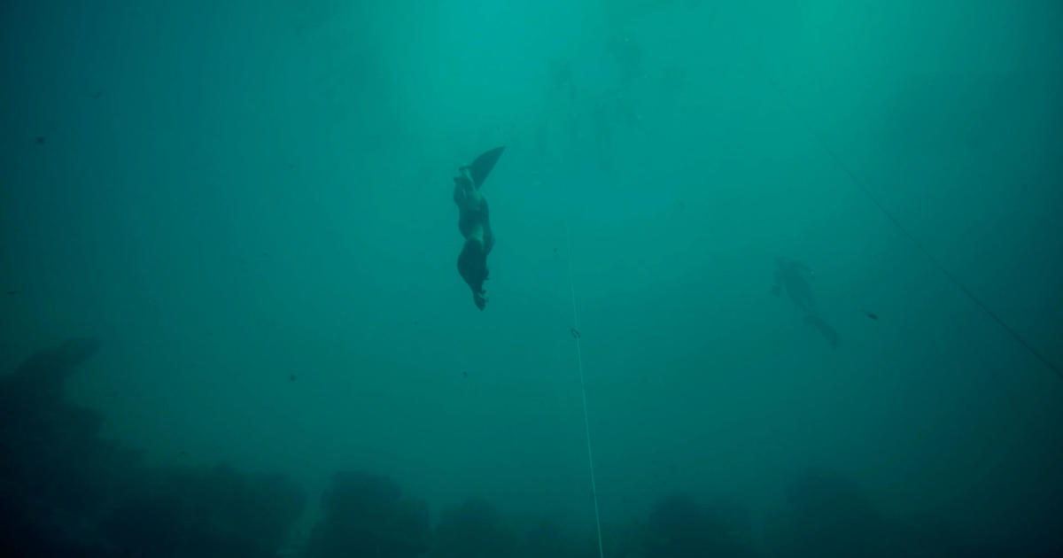 Alexey Molchanov on diving more than 39 stories deep while holding his breath for four and a half minutes