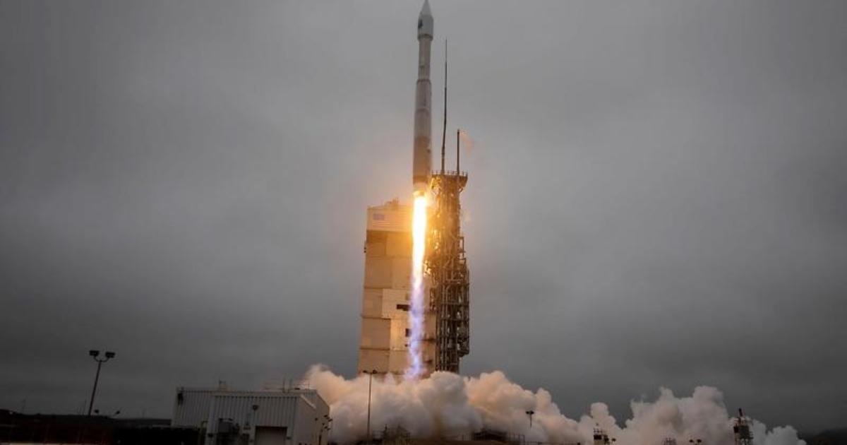 Atlas 5 rocket launches latest Landsat Earth observation satellite into orbit - CBS News