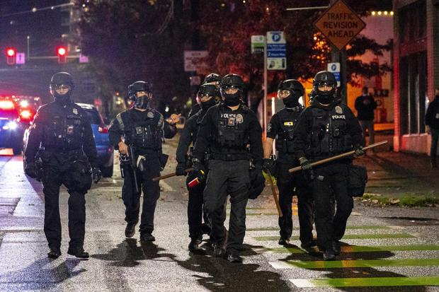 Protesters Take To The Streets On Election Day In Seattle