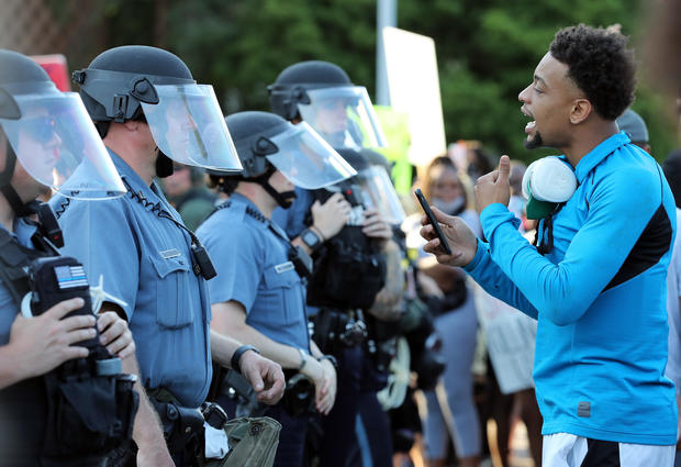 Protests Erupt Around The Country After Police Custody Death Of George Floyd In Minneapolis