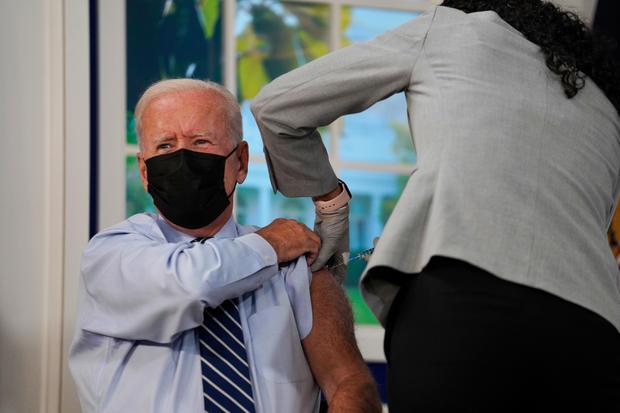 President Biden Receives Covid-19 Booster Shot