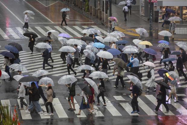 Virus Outbreak Japan