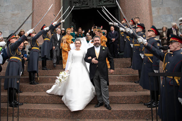 Grand Duke George Mikhailovich And Rebecca Bettarini Wedding - St Petersburg