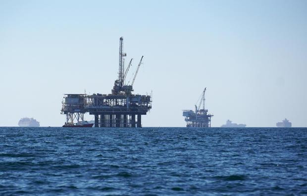 California Oil Spill Anchored Ships