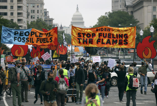Climate Activists Continue Protests Outside White House