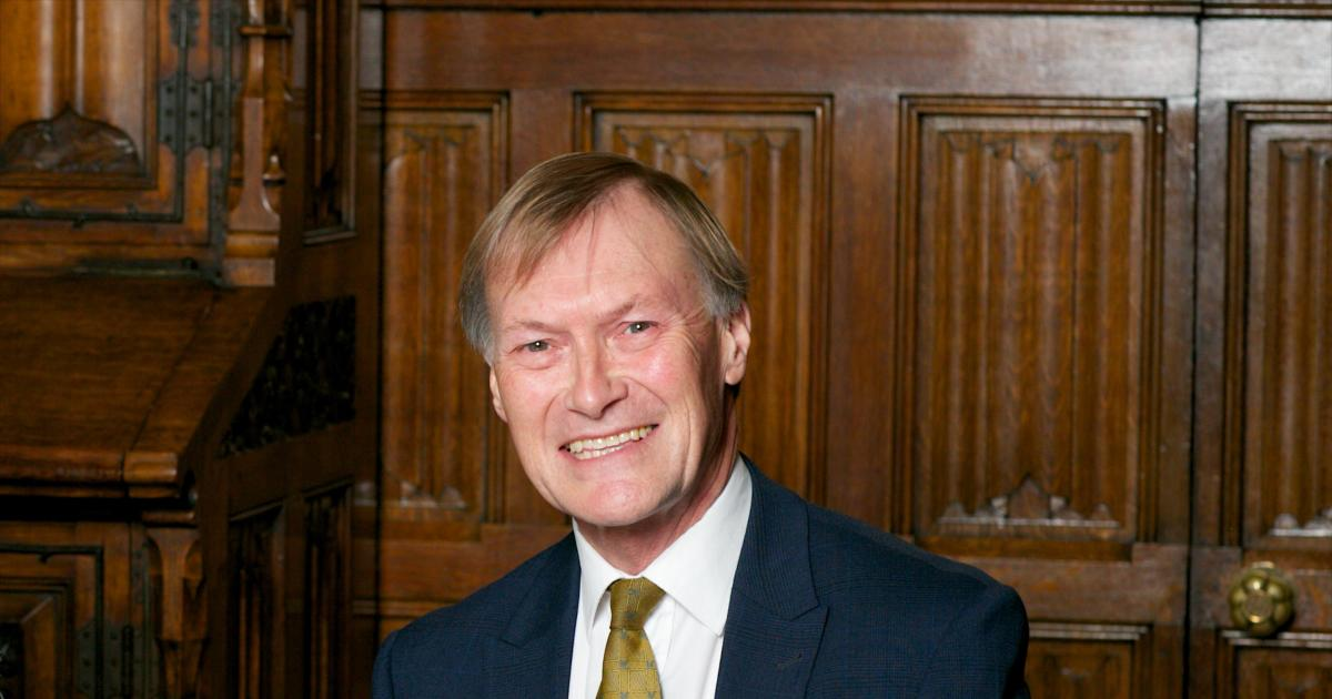 British lawmaker David Amess stabbed to death during meeting with constituents