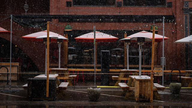 Denver Could Get Foot Or More Of Snow From Late Season Storm