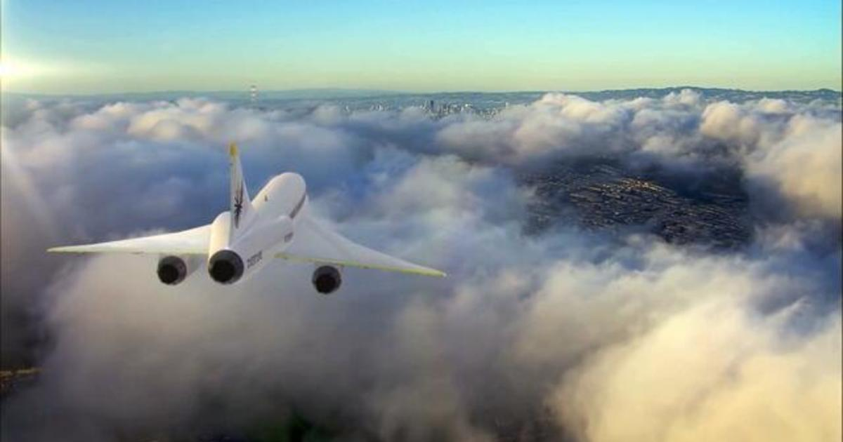 Successful test flights could lead to America's first supersonic passenger jet