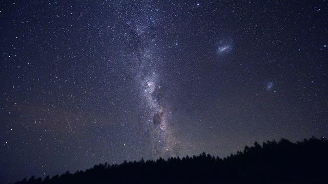 TOPSHOT-URUGUAY-ASTRONOMY-MILKY WAY